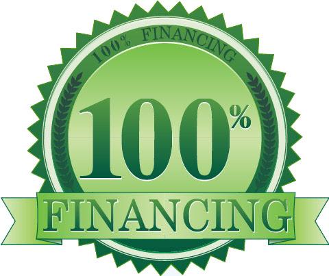 100 Financing Seal Green
