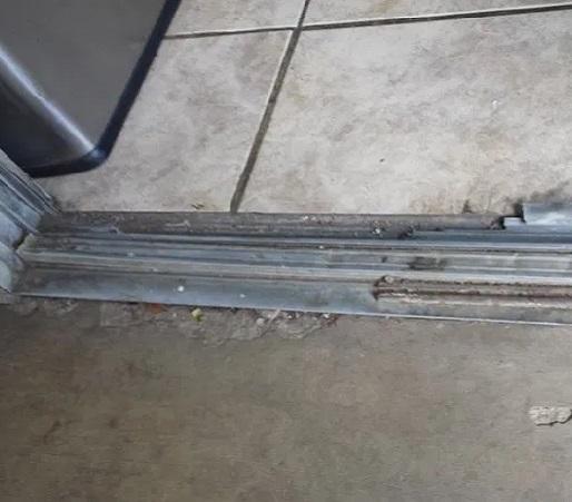 Sliding Door Track Replacement